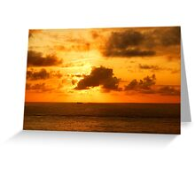 Ships That Pass in the Night.....!!!! Greeting Card