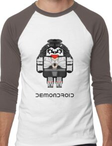 Demondroid Men's Baseball ¾ T-Shirt
