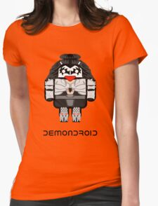 Demondroid Womens Fitted T-Shirt