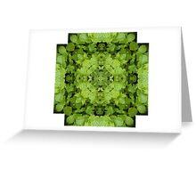 Mint Mandala Greeting Card