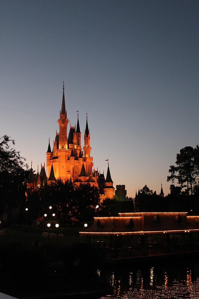 Castle at Dusk by Joe Diebold