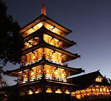 Japon - Epcot by Joe Diebold