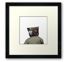 Pillowhead Framed Print