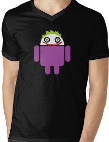 Jokeroid Mens V-Neck T-Shirt