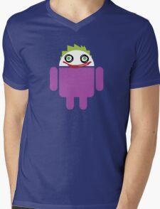 Jokeroid Mens V-Neck T-Shirt