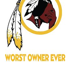 Celebrate the Redskins by owning something stating the obvious.  by mymainmandeebo