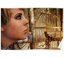 Locked Inside A Golden Cage Poster