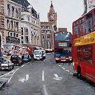 London Traffic  by Trisha Lamoreaux