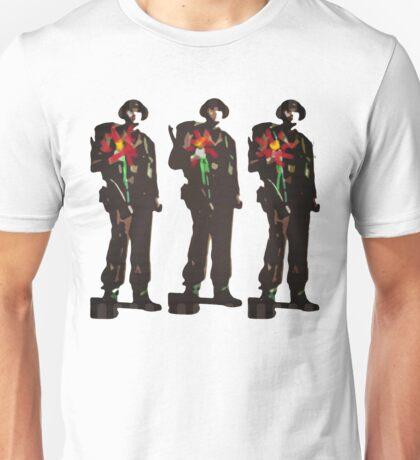 Flowers not Guns Unisex T-Shirt