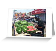 """Competition to Golden Arches in Harlem"" Greeting Card"