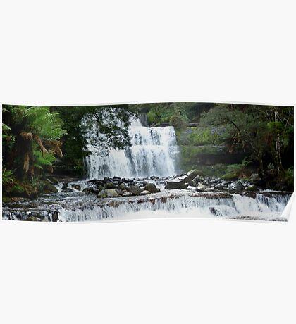 Waterfall in Tasmania  -  Australia  -  panorama Poster