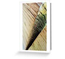 grain Greeting Card