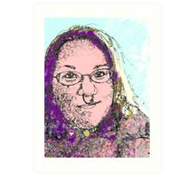 """Heather """"Oh yes I can!"""" Art Print"""