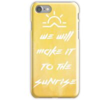 Sunrise - Our Last Night iPhone Case/Skin