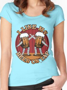 Beer On Tap Women's Fitted Scoop T-Shirt