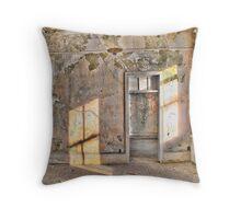 alcatraz room Throw Pillow