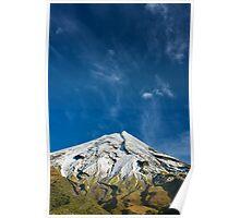 Eruption? Mt. Taranaki/Egmont, New Zealand Poster