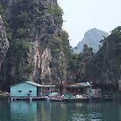 Fishing Village - Halong Bay, Vietnam by BreeDanielle