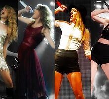 Taylor Swift- Fearless Era to 1989 Era  by cerussell3
