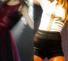 Taylor Swift- Fearless Era to 1989 Era  Sticker