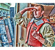 the deckhand Photographic Print