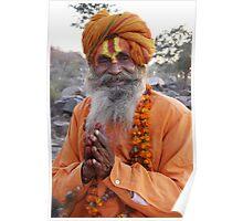 Indian Sage Poster