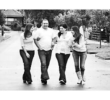 a brother & his sisters (1) Photographic Print