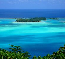 lagon in Bora Bora by supergold