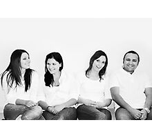 a brother & his sisters (2) Photographic Print