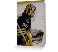 Tim Thomas Greeting Card
