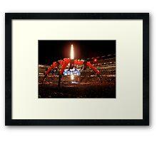 U2 Foxboro Framed Print