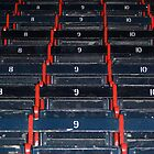 Fenway Wooden Seats by ProgNozzle