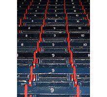Fenway Wooden Seats Photographic Print