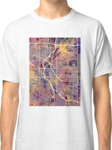 Denver Colorado Street Map Classic T-Shirt