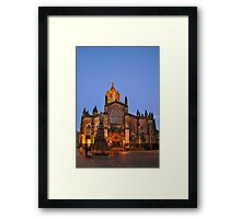 St Giles, Edinburgh Framed Print