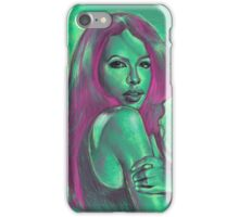 Aaliyah Dreamworld Painting iPhone Case/Skin