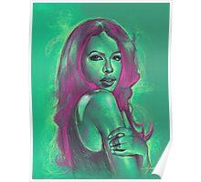 Aaliyah Dreamworld Painting Poster