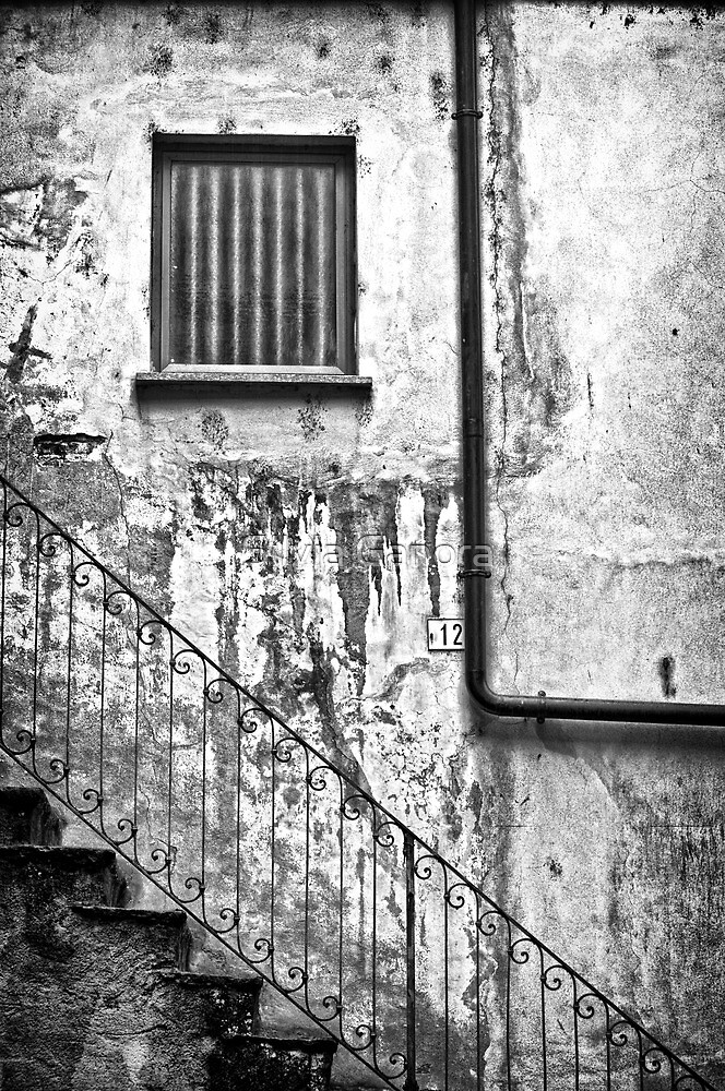 Stairs :: Window :: Drainpipe by Silvia Ganora