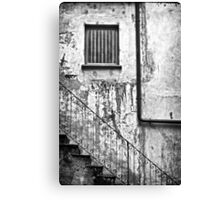 Stairs :: Window :: Drainpipe Canvas Print