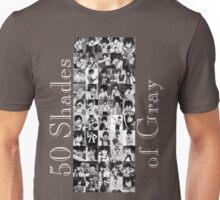 50 Shades of Gray Fullbuster - white txt Unisex T-Shirt