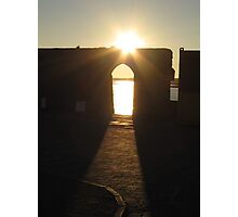 Arch of Sunlight  Photographic Print