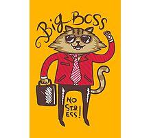 Big Boss - No Stress Photographic Print