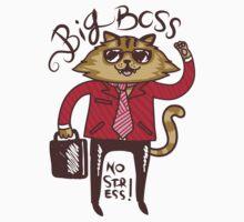 Big Boss - No Stress Kids Tee