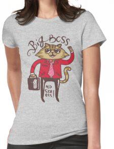 Big Boss - No Stress Womens Fitted T-Shirt