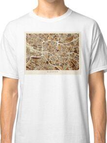 Glasgow Street Map Classic T-Shirt
