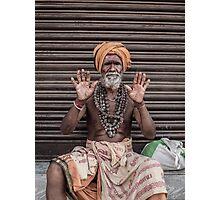 Sadhus of India Photographic Print