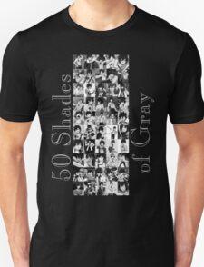 50 Shades of Gray Fullbuster - grey txt T-Shirt