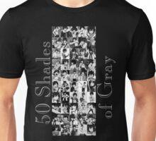 50 Shades of Gray Fullbuster - grey txt Unisex T-Shirt