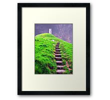 Going up Framed Print