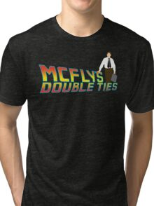 McFly's Double Ties Tri-blend T-Shirt